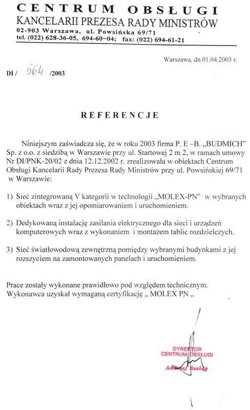 referencja kprm