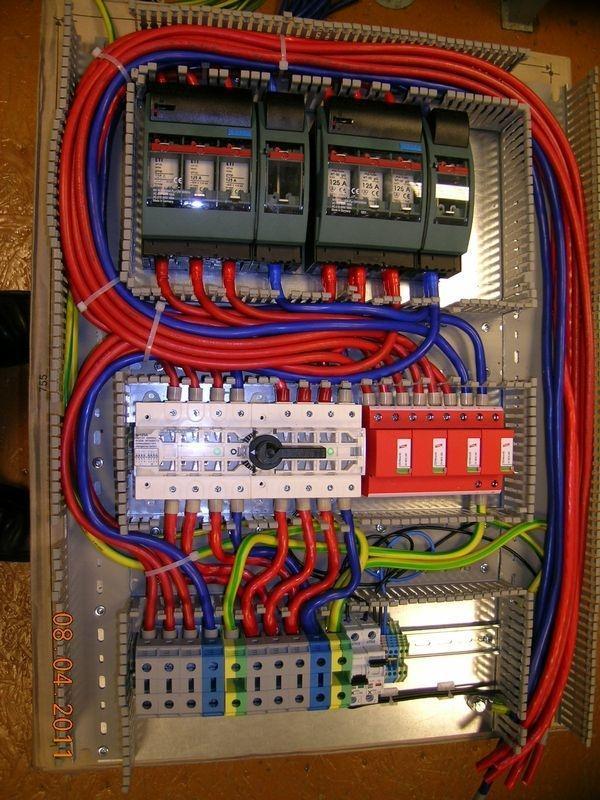 rozdzielnia mocy elektrycznej 5